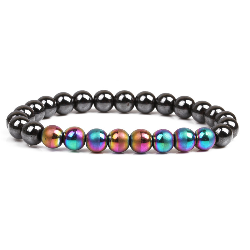 Natural Stone Fashion Sweetheart bracelet  (color) NHYL0095-color