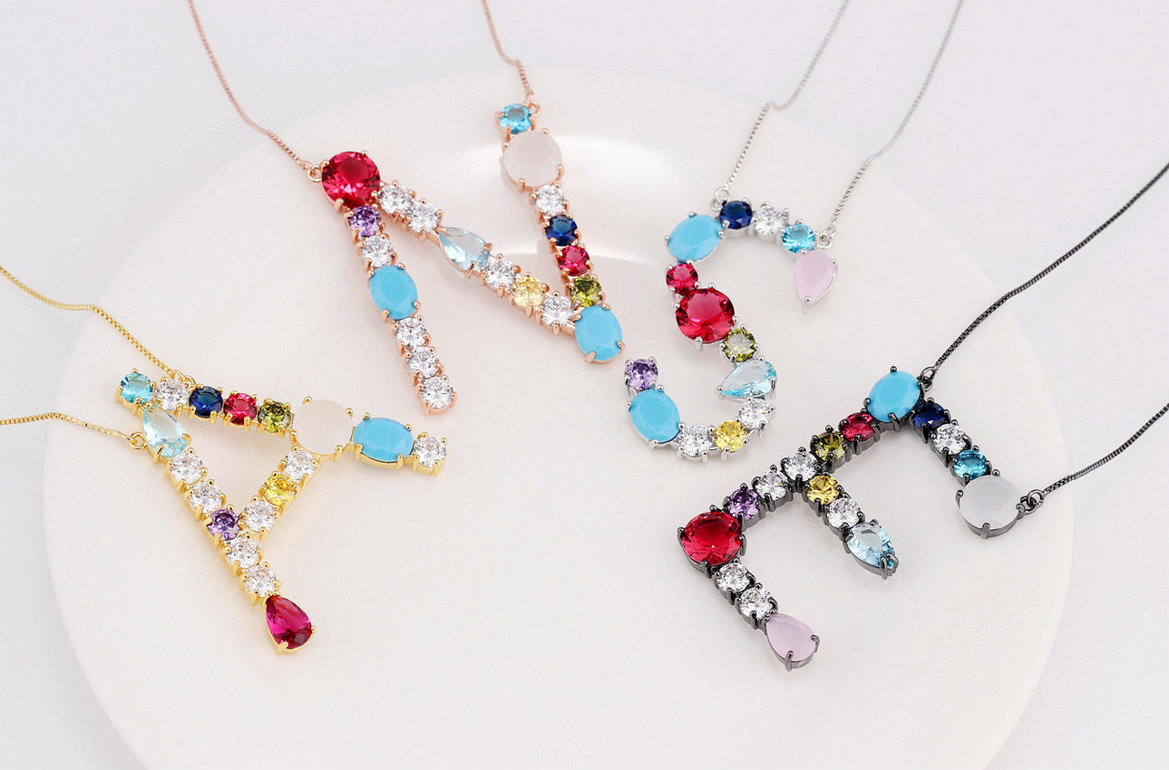Alloy Korea Geometric necklace(B)Fashion Jewelry NHIY0001-B Shipped after holiday