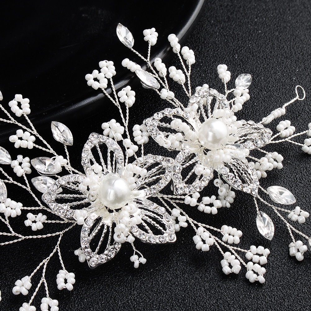 Alloy Fashion Flowers Hair accessories  (Alloy) NHHS0405-Alloy