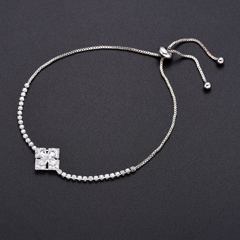 Alloy Simple Geometric bracelet  (66186037) NHLP1129-66186037