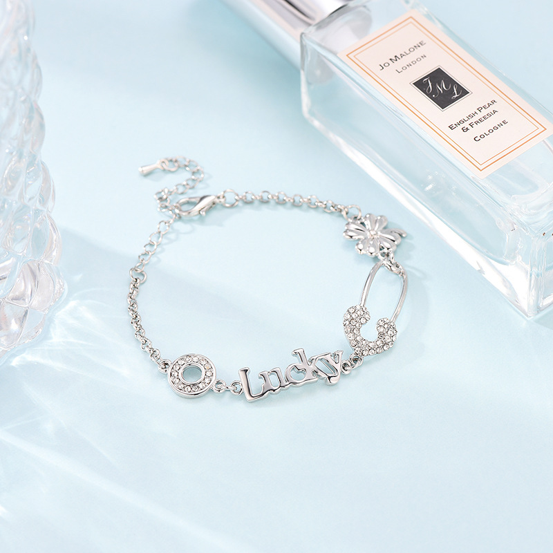 Alloy Fashion Flowers bracelet  (61186378) NHXS2105-61186378