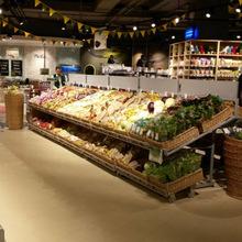 批发水果货架 新款便利店零食展示架 铁艺超市蔬菜货架多层定制