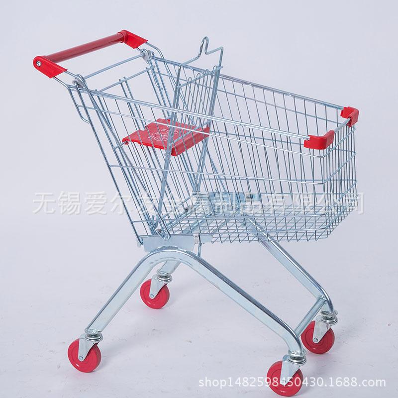 商场超市购物车物业仓库理货车物流周转大容量网格手推车可定制