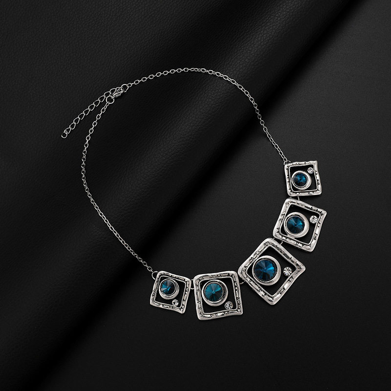 Alloy Fashion  necklace  (61172552) NHXS1706-61172552