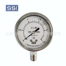 赛途SSI YTN-63H 径向 旋压式全不锈钢耐震压力表 恶劣环境应用