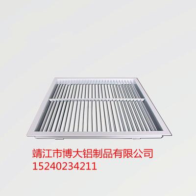 单层百叶出风口 铝合金百叶风口定制 铝材源头厂家直销