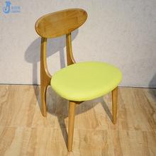 實木西餐廳餐椅歐式簡約椅子飯店奶茶店甜品店快餐店咖啡廳餐桌椅