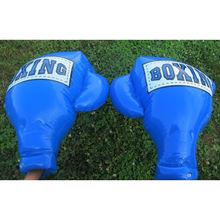 东莞工厂供应充气PVC儿童拳击手套拳击充气拳击手套拳击手套玩具
