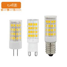 G9 LED G4 5W 3W陶瓷款插泡玉米灯 E14 E12 220V 陶瓷led家用灯泡