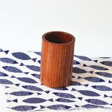 木质筷子筒筷笼 天然木防霉筷筒笔筒 家居用品批发
