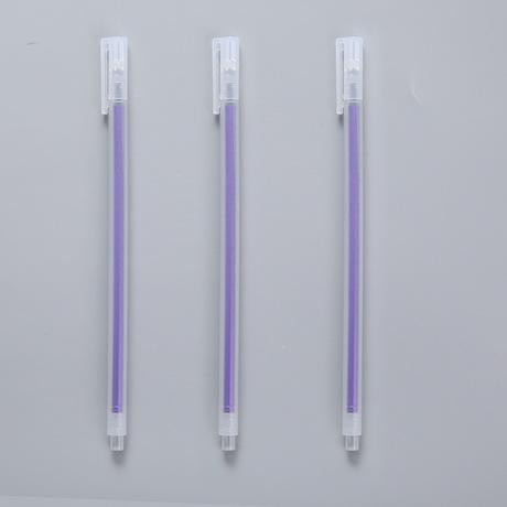 Hàn Quốc văn phòng phẩm sáng tạo trong suốt màu mờ kim cương đầu bút bút sinh viên bút nước 0,5mm