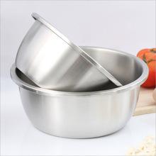 特厚不锈钢304家用盆厨房料理盆烘焙打蛋盆大调料缸和面盆洗菜盆
