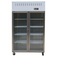 工程款双门展示柜 商用立式啤酒饮料冷藏柜 超市便利店冷藏展示柜