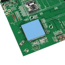 廠家生產led導熱硅膠片材料 主板CPU散熱硅膠片 導熱硅膠片批發