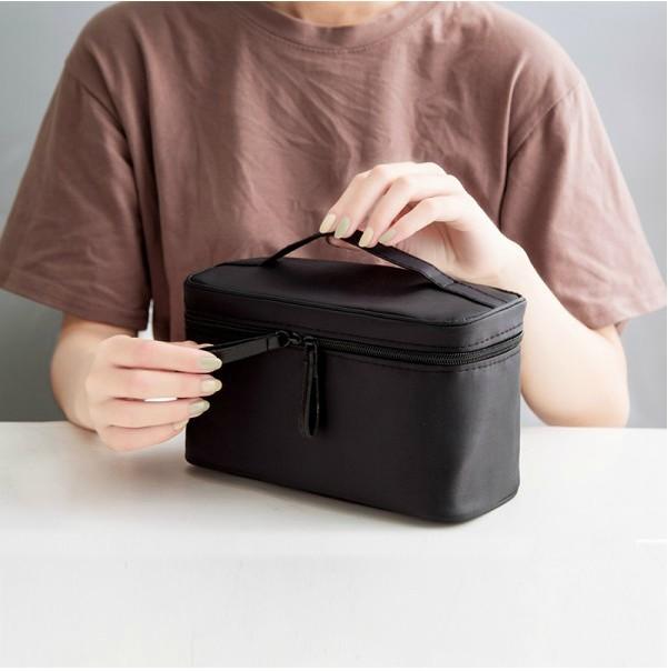 时尚手提化妆包洗漱包多功能彩妆笔刷化收纳包大容量化妆箱