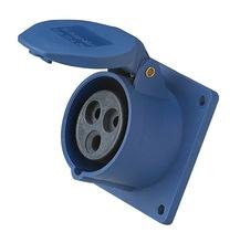 工业防水插头插座3芯63A公母对接明装暗装快速接线临时配电柜