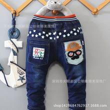 广州尾货1元2元服装2018年1688网上批发大市场牛仔裤厂家直销