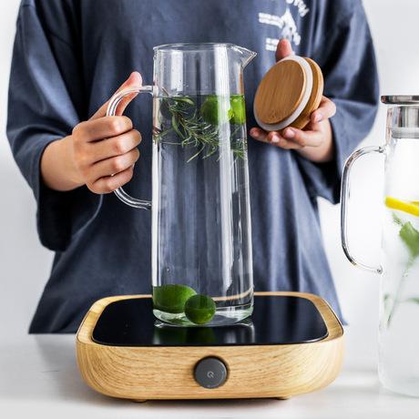 Sean rời ly trà ấm đun nước trái cây lạnh với một nắp nồi chén chai nước lạnh mát tay áo phù hợp với cốc nước lạnh Bộ cốc