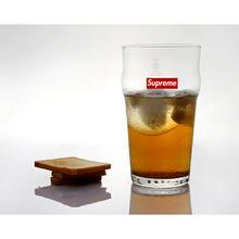 創意水杯SUPREME PINT GLASS玻璃杯英式品脫啤酒杯牛奶玻璃杯