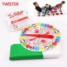 批发成人桌游扭扭乐twister多人聚会家庭亲子互动游戏玩具速卖通
