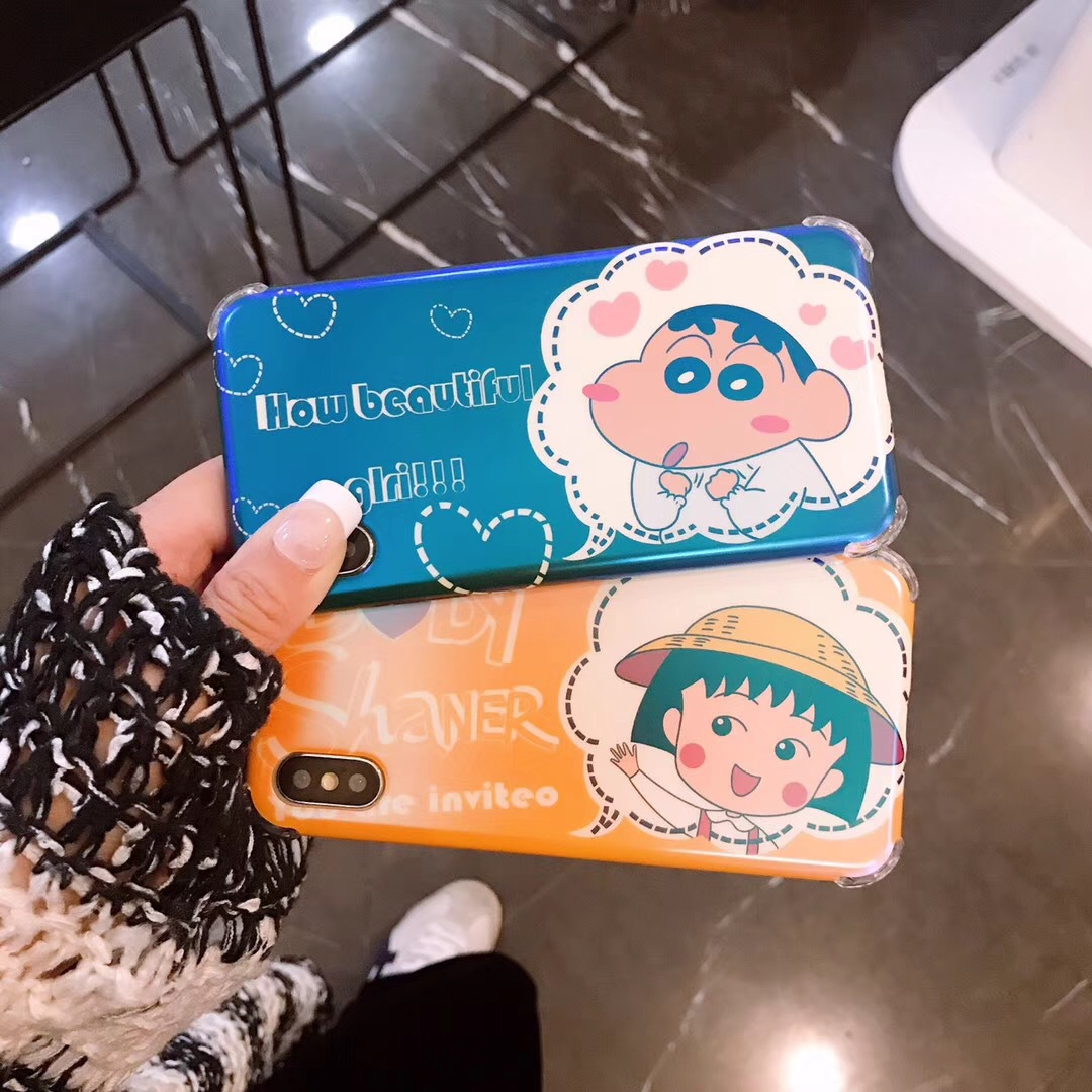 Cute cartoon small balls apple x mobile phone case for iPhone7/8plus/XsMax silicone soft shell 6s female