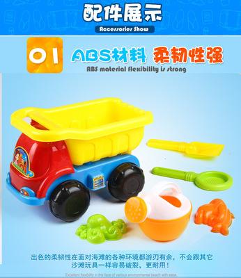 đồ chơi giáo dục Liu Jiantao mùa hè mới chơi cát xẻng xe tải đồ chơi trẻ em nhà máy bán buôn trực tiếp