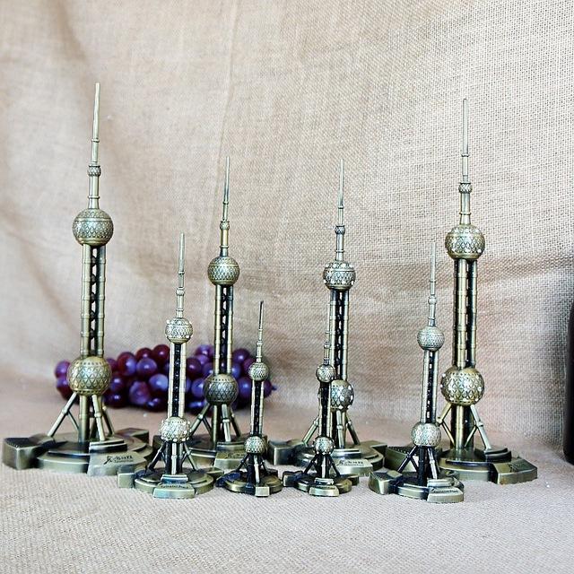 金属工艺品东方明珠模型 工艺品摆件 爱你的礼物 东方明珠特多款
