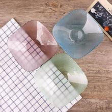 美芝丽四方形彩色玻璃碗家用水果盘干果餐具定制日用百货酒店用品