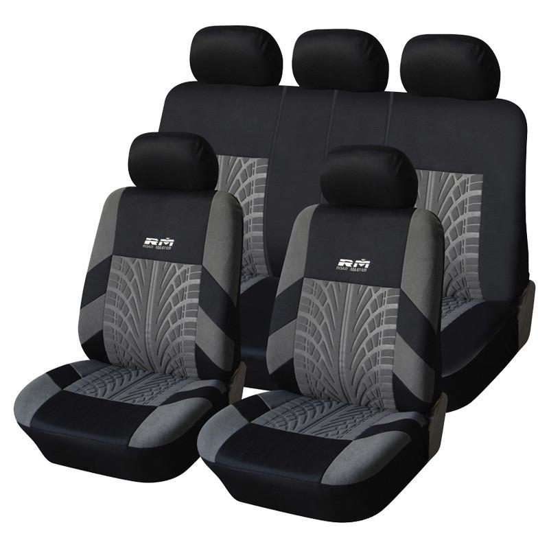 外贸爆款RM绣花 汽车坐垫 适合大多数汽车内饰四季通用型座椅套