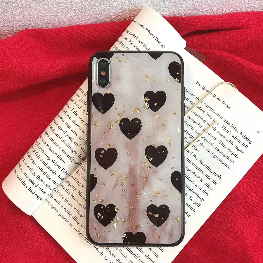 Love Platinum Apple XS Max/XR for mobile phone case iPhone8plus/7p/6s creative personality female models