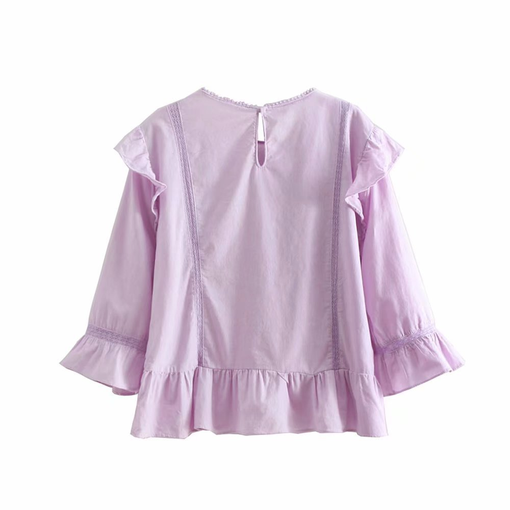 Polyester Fashioncoat(Purple-L) NHAM4486-Purple-L