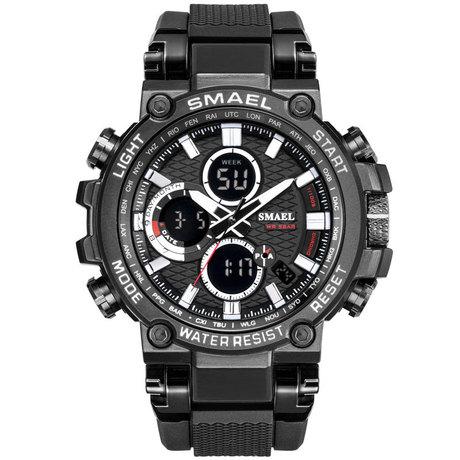 Đồng hồ mới mùi chính hãng thời trang thể thao đa chức năng đồng hồ điện tử đôi ngoài trời phổ biến nam
