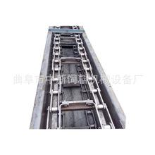 刮板输送机设计热销 高炉灰输送刮板机大倾角