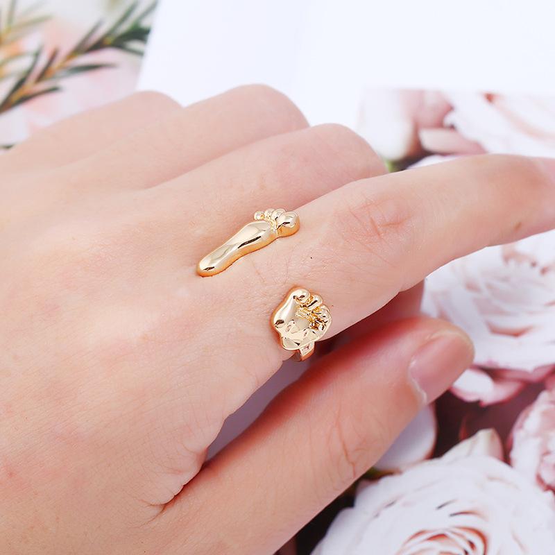 Alloy Korea Animal Ring  (White K) NHKQ1859-White-K