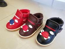 新款中童棉鞋防滑耐磨牛筋底魔术贴加绒加厚保暖儿童棉鞋