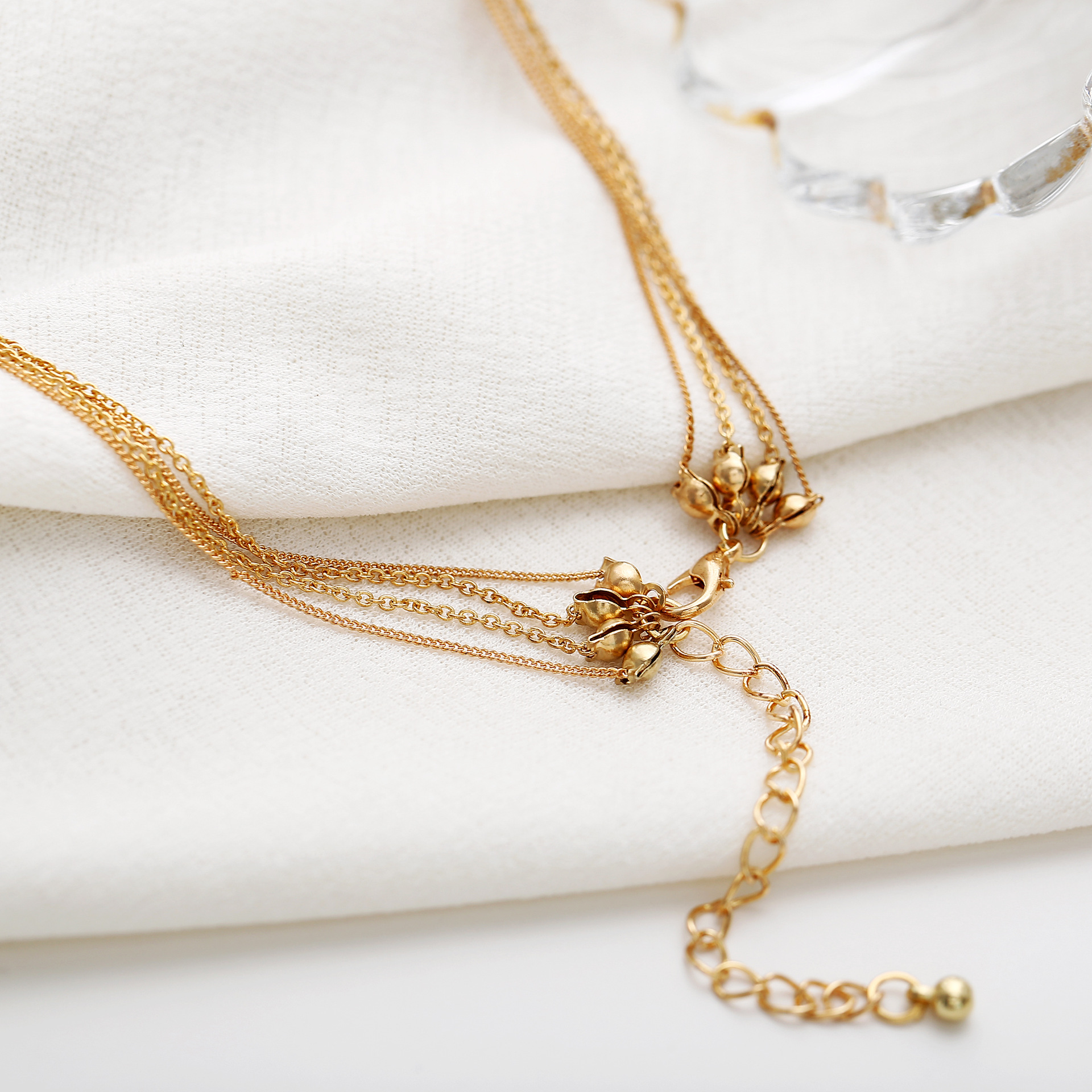 Womens Moon  Round  Ball Plating Alloy Necklaces PJ190422118673