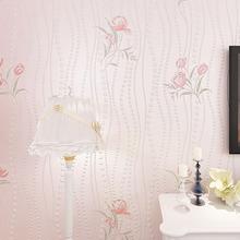 【贴新服务】韩式田园碎花无纺布墙纸客厅卧室壁纸批发 91702壁纸