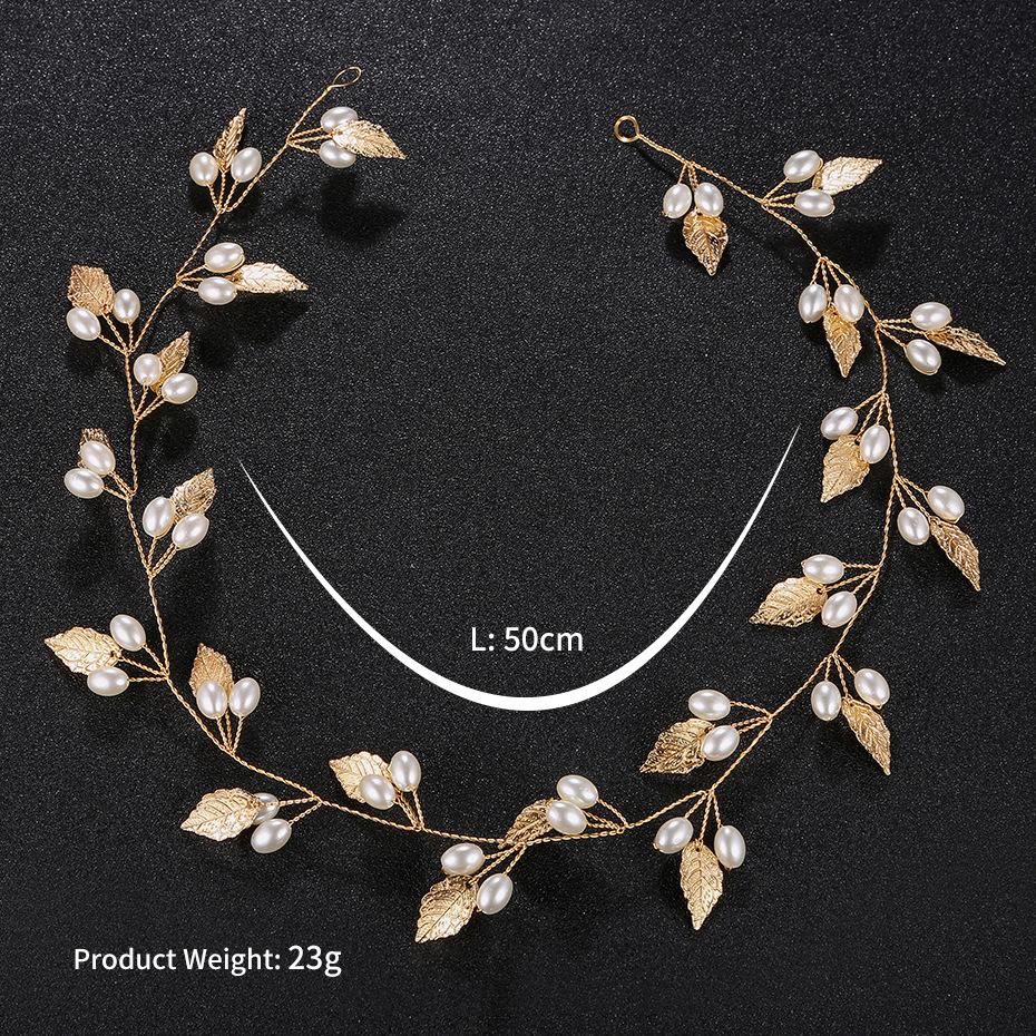 Alloy Simple Geometric Hair accessories  (Alloy) NHHS0347-Alloy