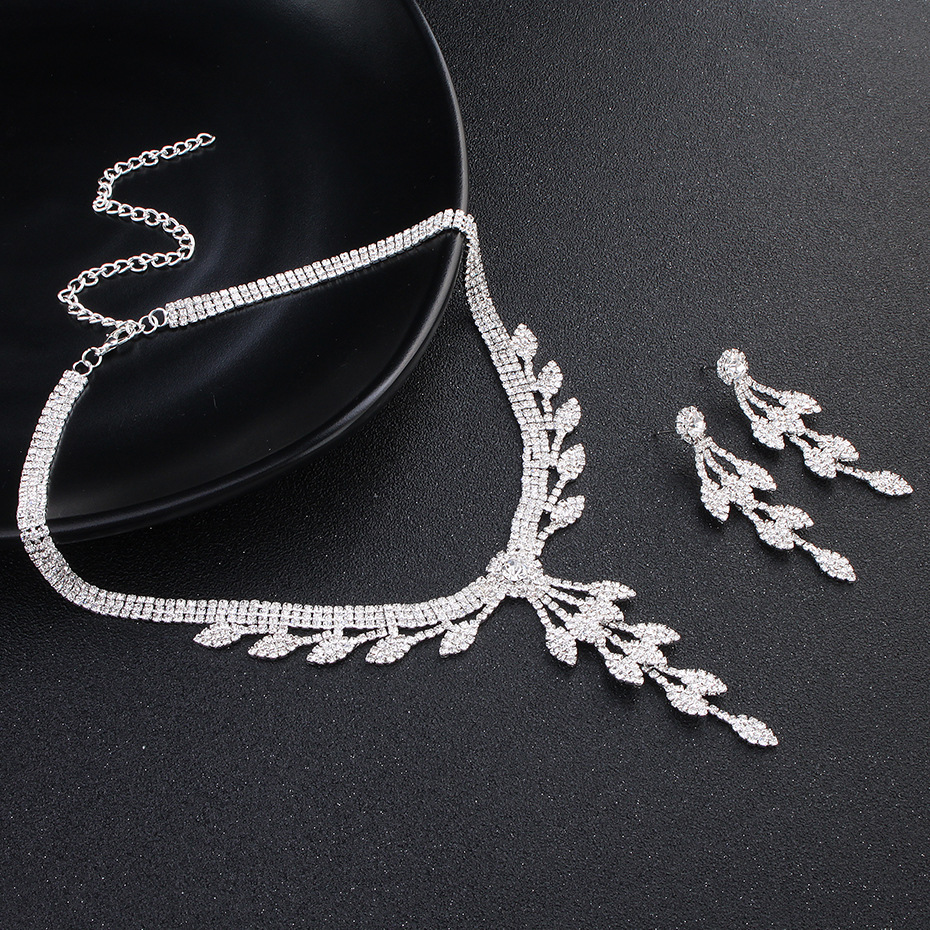 Alloy Fashion  necklace  (white) NHHS0099-white