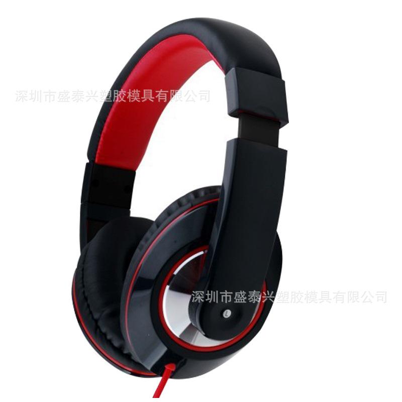 有线电脑耳机外壳耳壳 MP3带麦耳机 塑胶耳机配件 来样定制