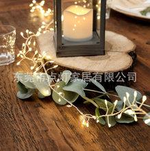廠家直銷LED銅線鞭炮燈蜈蚣燈串 婚慶節日燈串商場店鋪裝飾燈