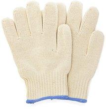 厂家销售外贸烤箱隔热手套,双层棉耐高温手套,针织防护手套批发