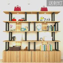 展示柜简约现代陈列架超市货架书架多层包包展柜架自由组合化妆品