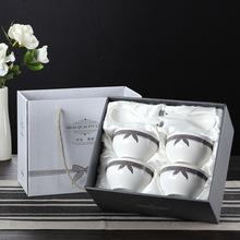 批发厂家供应i创意家用日用陶瓷套装 碗勺子礼盒礼品餐具定制LOGO