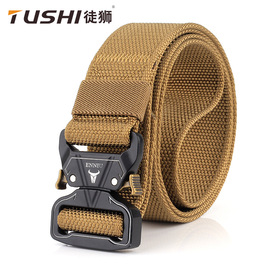 ENNIU new 3.8 quick release buckle outdoor safety outer belt quick-drying pure nylon belt for training belt