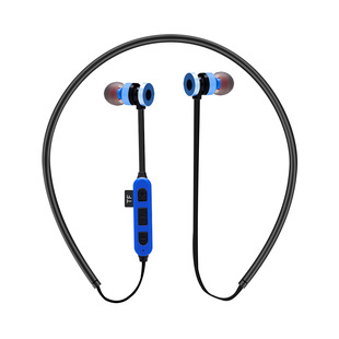 Wireless Bluetooth Card Headphones Sports Running Stereo Subwoofer Compatible with IOS Android Magnetic Headphone Gift