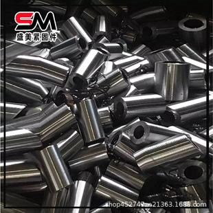 国标钢筋连接 工业专用紧固件 直螺纹镀锌钢筋套筒 大量现货批发