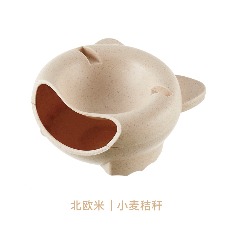 Wheat Straw Material Beige