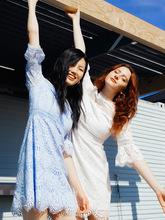 2019新款夏秋季女裝歐美長袖蕾絲連衣裙女中長款鉛筆裙 一件代發