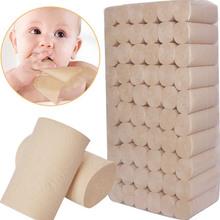 本色卫生纸家用婴儿卷纸巾卷筒纸厕纸手纸批发大卷纸直批包邮